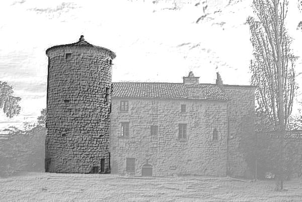la tour de la Vernade